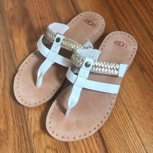 UGG grecian style leather sandals NWOT